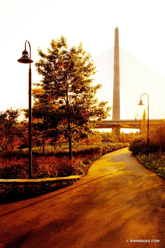 BOSTON ZAKIM BRIDGE COLOR VERTICAL
