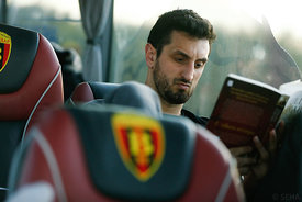 Ilija ABUTOVIĆ of Vardar during the Final Tournament - Final Four - SEHA - Gazprom league, team arrival in Varazdin, Croatia, 30.03.2016, ..Mandatory Credit ©SEHA/Stanko Gruden