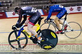 Men's Sprint 3-4 Final. 2015 Canadian Track Championships, October 8, 2015
