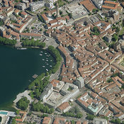Lecco aerial photos