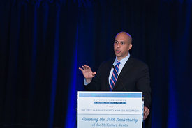 political speaker (Sen Cory Booker)