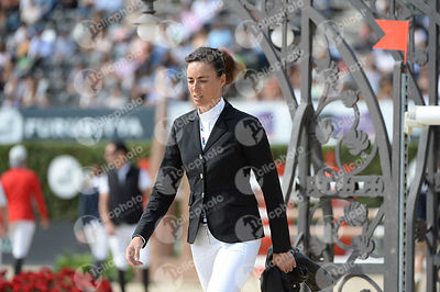 Pilar Lucrecia CORDON ,(ESP) during Longines Cup of the City of Barcelona competition at CSIO5* Barcelona at Real Club de Polo, Barcelona - Spain