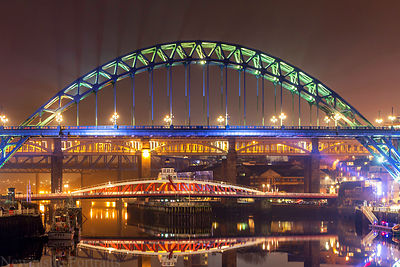 Iconic Tyne Bridge