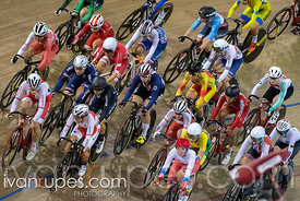 Women's Omnium 1: Scratch Race. Track Cycling World Cup Milton, October 28, 2018