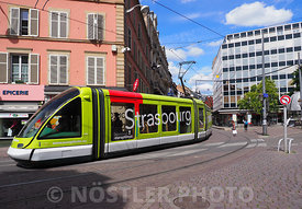 Trams in Strasbourg