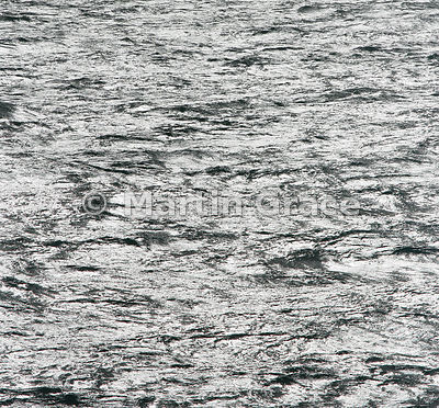 Silvery sea in the Southern Ocean off South Georgia