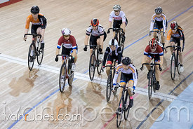 Cat 2 Women Scratch Race. Track O-Cup #2, Mattamy National Cycling Centre, Milton, On, January 15, 2017