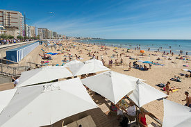 Restaurants sur la plage