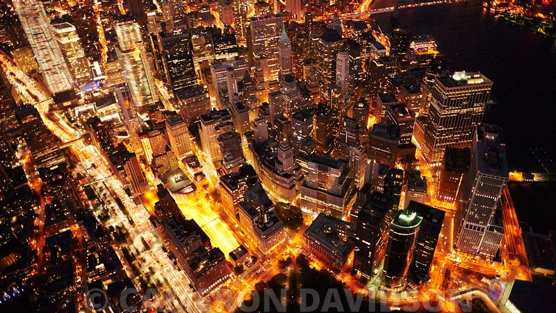 City Lights aerial pictures