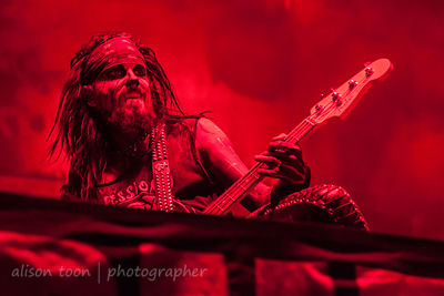 Piggy D with Rob Zombie at Aftershock 2014, Sacramento