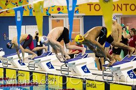 Mixed 18 & Under 200 SC Meter Freestyle Relay, Ontario Junior International, Toronto Pan Am Sports Centre; December 6, 2015