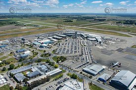 Christchurch Airport Looking East