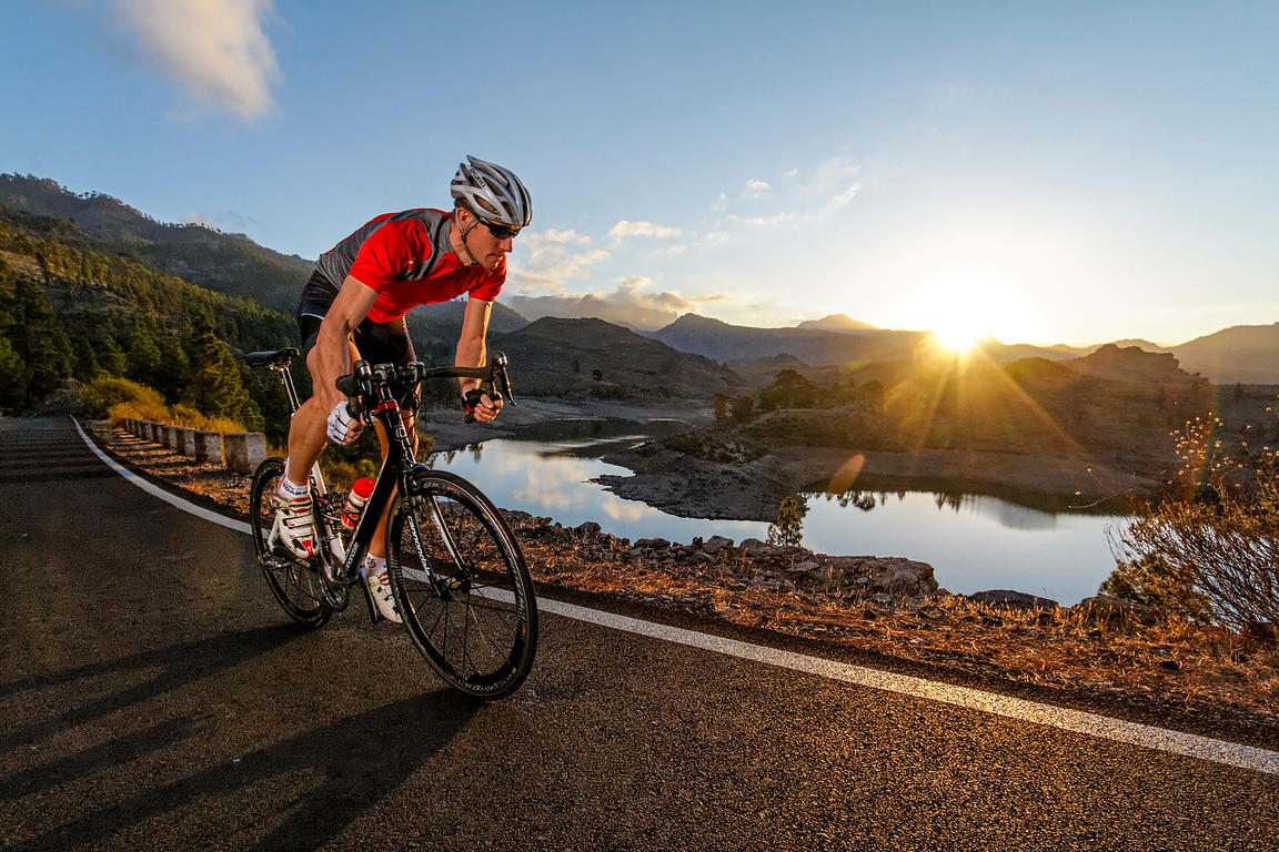 Sunrise cycling @ Grand Canarias
