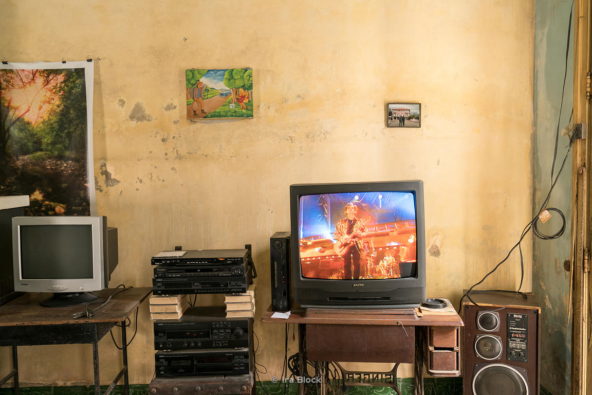 Inside of a home in the village of Bejucal, a municipality and town in the Mayabeque Province of Cuba.
