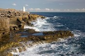 Portland Bill and obelisk