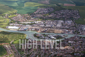 Aerial Photography Taken In and Around Newhaven, UK