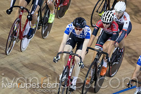 Junior Men Omnium Scratch Race. Milton International Challenge, Mattamy National Cycling Centre, Milton, On, September 30, 2016