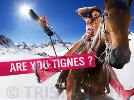 Tignes communication campaign 2010 photos