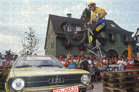 HANS REY TRIALS DEMONSTRATION KIRCHZARTEN GERMANY 1992
