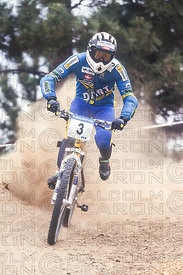 SAMUEL CORRADO HERIN BIG BEAR, USA. GRUNDIG DOWNHILL WORLD CUP 1995