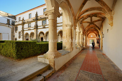 Corvos cloister. Convent of Christ, a UNESCO World Heritage Site. Tomar, Portugal