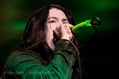 Craig Mabbitt, vocals, Escape The Fate
