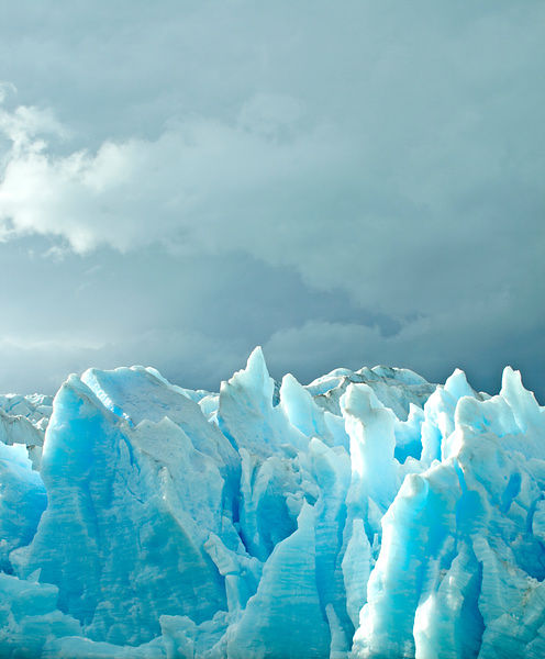 Blue Glacier in Chile