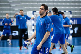 of PPD Zagreb during the Final Tournament - Final Four - SEHA - Gazprom league, training, Varazdin, Croatia, 31.03.2016, ..Mandatory Credit ©SEHA/Zsolt Melczer..