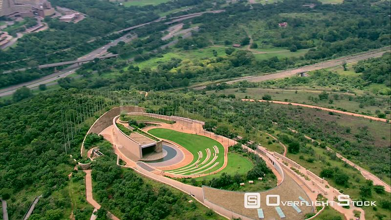 Aerial shot of Freedom Park and surrounding area. Pretoria Gauteng South Africa