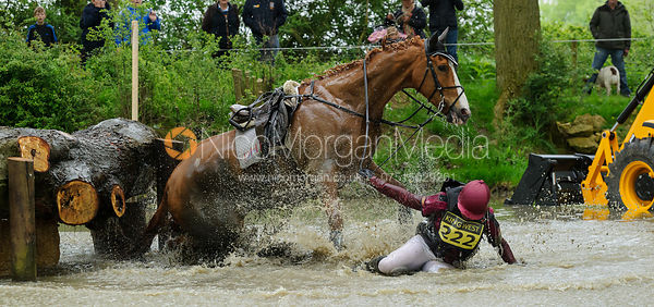 Jo Ward and DHI UP BEAT - Rockingham Castle International Horse Trials 2016