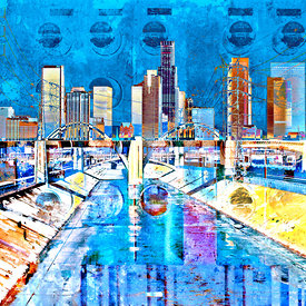 Los Angeles Panoramas Artworks