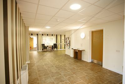 Entrance Hall for the Stanbridge Hall Apartments