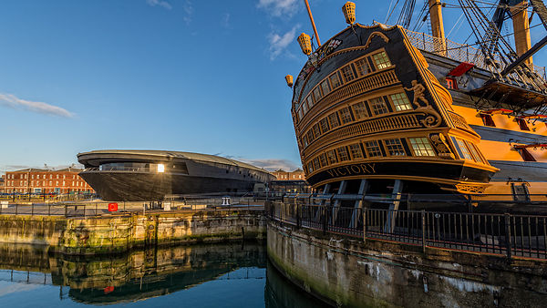 HMS Victory and the Mary Rose museum