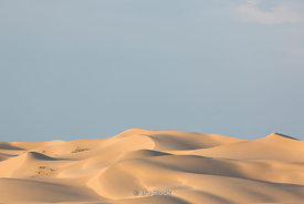 Scenes around  the Khongoryn Els sand dunes in Gobi Gurvansaikhan National Park in south Gobi desert, Mongolia.