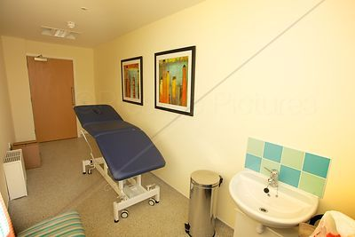 Therapy Room with Massage Bench