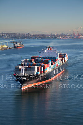 Hanjin Container Ship
