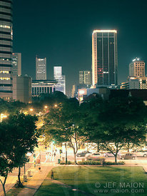 Singapore nightscape
