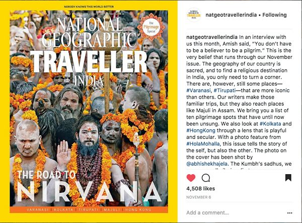 Nat Geo India Instagram Page, Nov 6 2017 photos