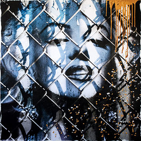 Trapped Marilyn (Gold)