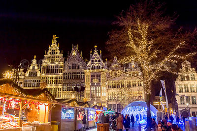 Grote Markt in  Antwerp's old town plays host to Antwerp's best  Christmas Market