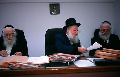 Rabbinical Court in Jerusalem