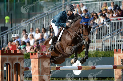 Pablo BARRIOS ,(VEN), ANTARES during Longines Cup of the City of Barcelona competition at CSIO5* Barcelona at Real Club de Polo, Barcelona - Spain