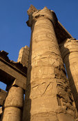 Temple of Karnak, the Great Hypostyle Hall, Luxor, Egypt