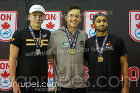 1500m Freestyle Men Awards Ontario Junior International, Day 1, December 14, 2018
