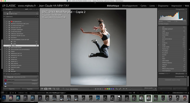 STAGES TRAITEMENT D'IMAGES LIGHTROOM CLASSIC (VERSION SUR L'ORDINATEUR) photos