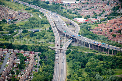 The M5 and M6 Motorway, The West Midlands
