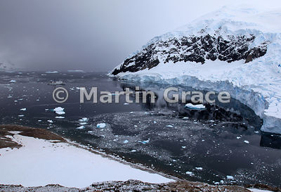 Glacier in Neko Harbour, Andvord Bay, Antarctic Peninsula