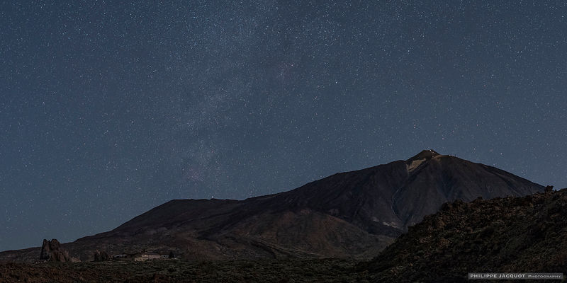 Twilight over the Teide - Tenerife (Canaries)