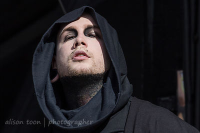 Josh Balz, keys, Motionless In White