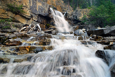 Tangle Falls. Banff NP, Canadian Rockies.